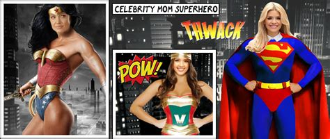 designcrowd photoshop contests celebrity mums imagined as comic book superheroes in