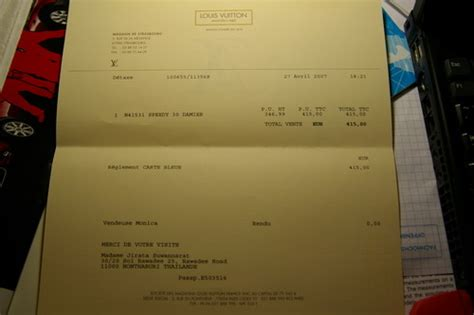 louis vuitton receipt template louis vuitton receipt template free
