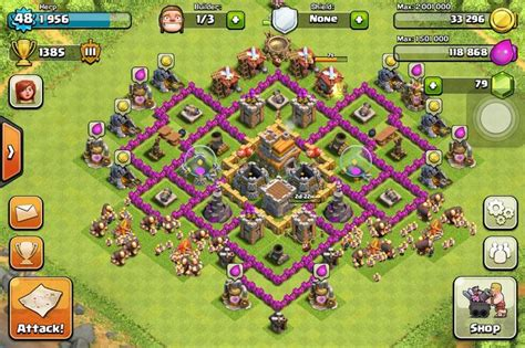 layout design th7 screenshot base designs th7 page 119 clash of clans