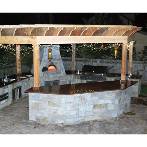 outdoor kitchen designs with pizza oven outdoor kitchen with pizza oven home ideas pinterest