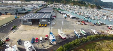 boat yard layout seaview marina boatyard rules wellington new zealand
