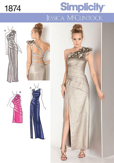 Bridesmaid Dress Patterns Uk - bridesmaid dress patterns simplicity uk