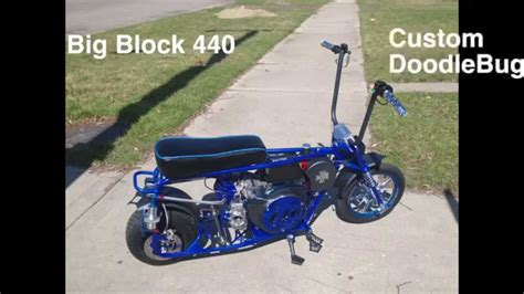 doodlebug mini bike used custom doodlebug mini bike
