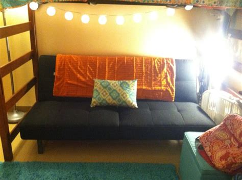futon college dorm under my lofted bed futon couch dorm dormroom