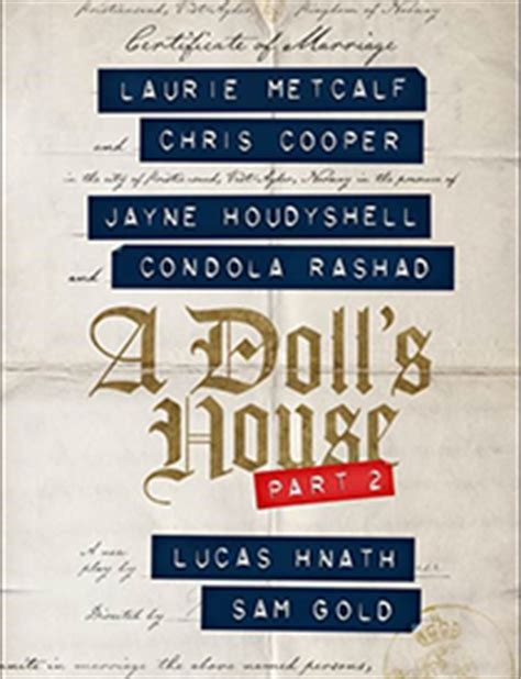 when was a dolls house written early bird group tickets now on sale for a doll s house part 2 your broadway genius