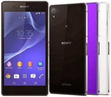 Dan Spesifikasi Handphone Sony Xperia Z1 Spesifikasi Dan Harga Sony Xperia Z2 Info Tercanggih