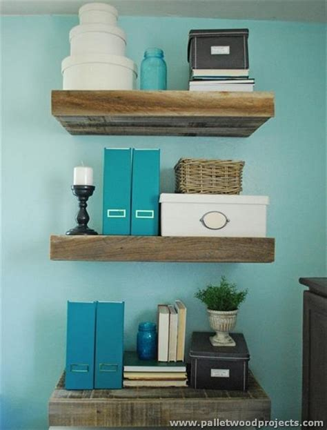 pallets hanging bookshelf ideas pallet ideas recycled decorative pallet wall shelves pallet wood projects