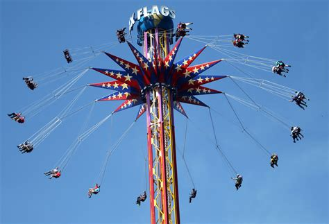 screamer swing photos skyscreamer six flags tallest ride www