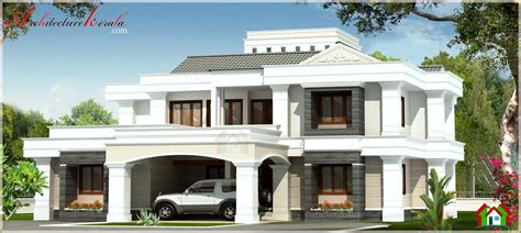 Contemporary Style Kerala Home So Replica Houses Contemporary House Plans Kerala