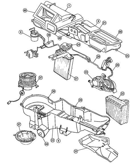 2004 Jeep Wrangler Parts Diagram Blower Motor W Wheel Jeep Liberty Wrangler 2004 2007