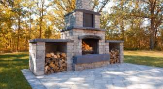oasis collection outdoor fireplace kit barkman