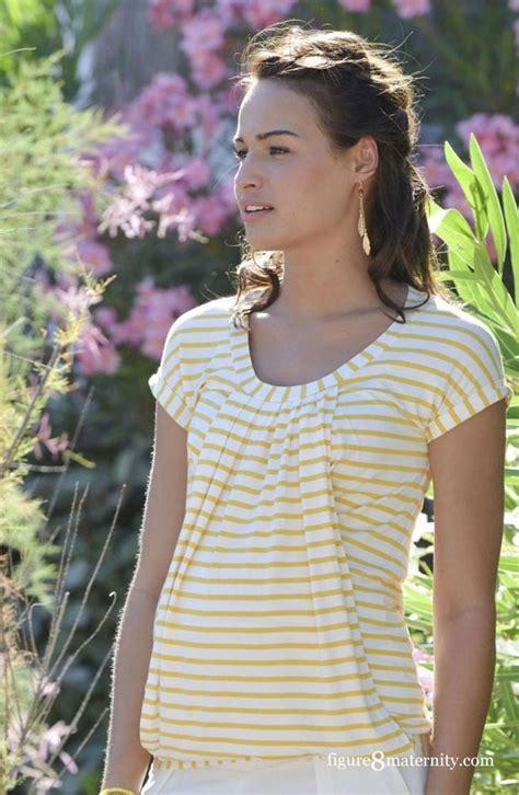 Yellow White Stripes Top manon nursing top in yellow white stripes by pomkin