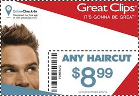 great clips coupons printable coupon and deals