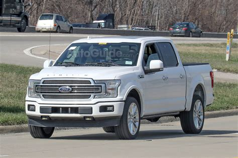 2019 ford 150 truck 2019 ford f 150 limited spied with an updated rear end