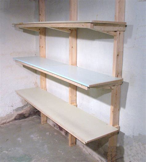 Shelf Building how to build shelves
