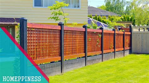 Design For Front Yard Fencing Ideas New Design Modern Front Yard Fence Ideas Modern Garden