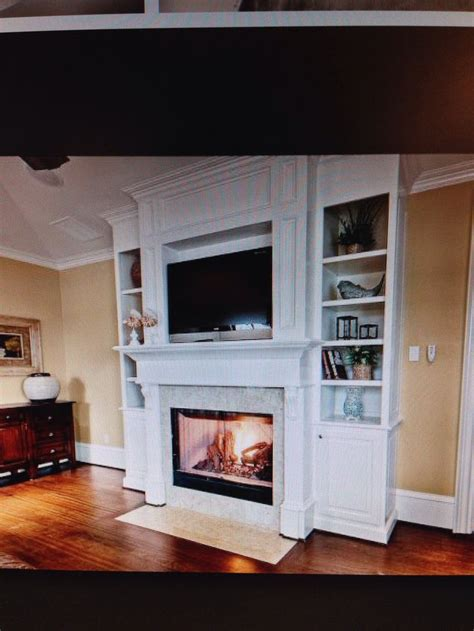 Fireplace Mantel With Shelves On Side fireplace mantel with side shelving attic suite