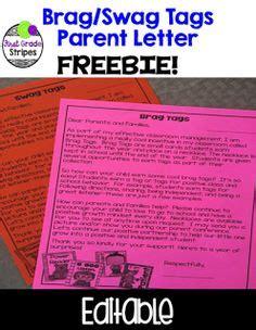 Parent Brag Letter Sle 1000 Ideas About Brag Tags On Classroom Management Positive Behavior And Classroom