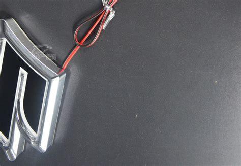 Emblem X Road Sx4 5d rear badge bulb emblem car logo light for suzuki sx4 alto jimny s cross splash car
