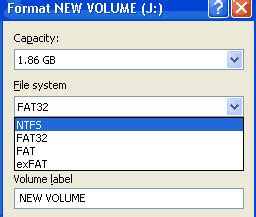 format flashdisk ntfs atau fat32 tips mem format flashdisk dengan file system ntfs many cara