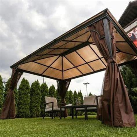 rattan pavillon kensington courtyard polycarb roof pavilion 3m x 4 3m