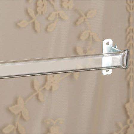clear plastic curtain rods clear curtain rod clear home sweet home pinterest