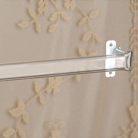 clear curtain rods clear curtain rod clear home sweet home pinterest