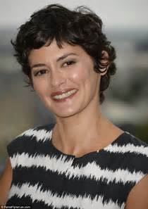 Audrey Tautou is picture of elegance in monochrome at