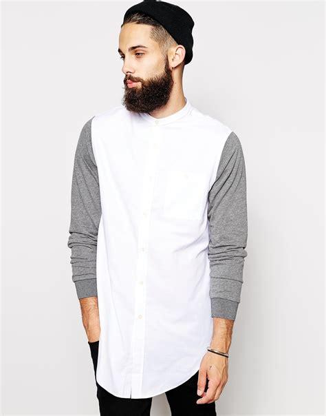 Longline Swag T Shirt Swag T Shirt Younglex 1 longline grandad collar mens sleeve shirts buy mens