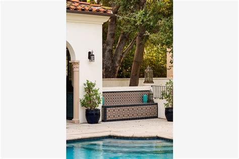 Outdoor Living Design By Huntington Pools Inc Southern San Marino Mediterranean By Huntington Pools Inc