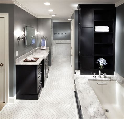 contemporary carrara bathroom home forge remodeling
