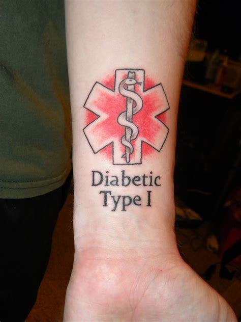 diabetic tattoo