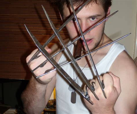 How To Make Paper Wolverine Claws - wolverine claws