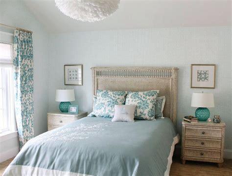 Light Turquoise Bedroom Inspired Home With Blue And White Kitchen Home Bunch Interior Design Ideas