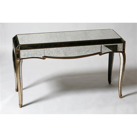 mirrored bench mirrored console table office and bedroom mirrored