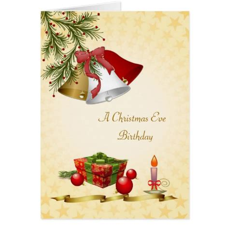 images of christmas eve birthday birthday on christmas eve bells baubles candle card