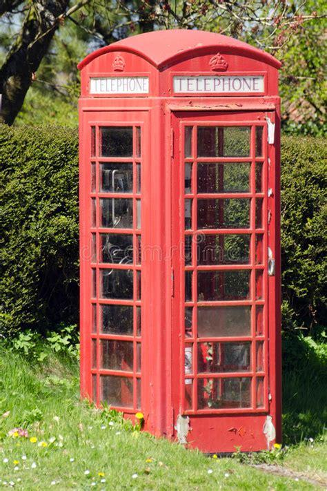 cabina telefonica inglese cabina telefonica inglese rossa tradizionale immagine