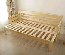 Wood Frame Chair Bed Pull Out Sofa Bed Building Ideas Pull Out