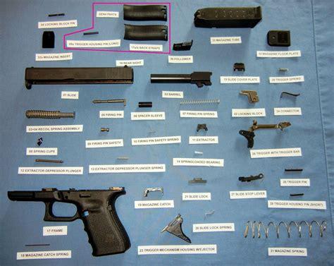 glock parts diagram ammo and gun collector glock parts diagrams