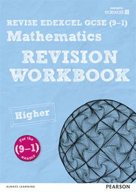 revise edexcel gcse 9 1 1292133783 bol com revise edexcel gcse 9 1 mathematics higher revision workbook navtej marwaha navtej