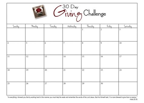 10 Best Images Of Blank Calendar 30 Day Challenge Printable 30 30 Day Calendar Wevo 30 Day Calendar Template