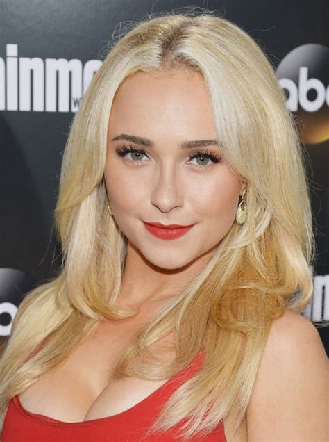 hairstyles with center part and layers hayden panettiere long hairstyle layered hair with center