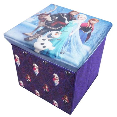 ottoman official official disney frozen storage stool ottoman toy box chest