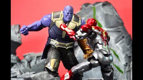 Marvel Legends Iron 48 Infinity War Baf Mcu Thanos hasbro marvel legends mcu baf thanos review clipzui