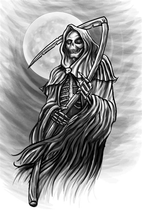 free grim reaper tattoo designs collection of 25 free grim reaper designs