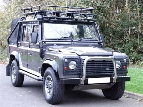 used land rover defender 110 for used 2001 land rover defender 110 td5 tomb raider dcb for