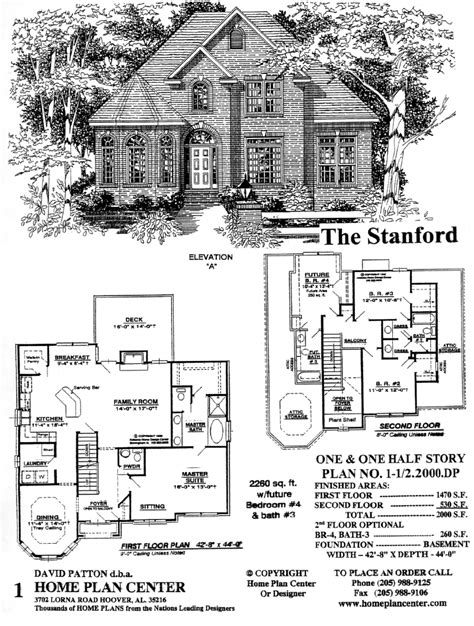 remarkable story and half house plans photos best idea home plan center 1 1 2 2000 dp stanford