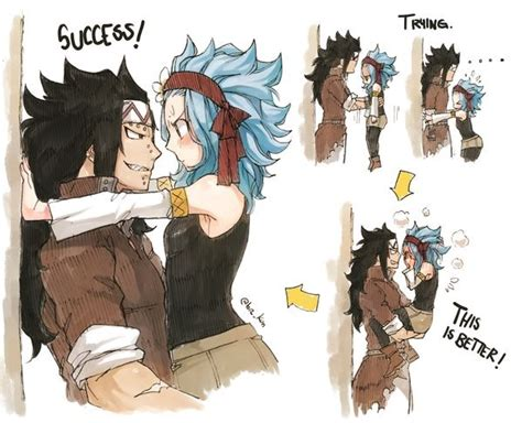 gajeel and levy gajeel levy image 3012721 by kristy d on