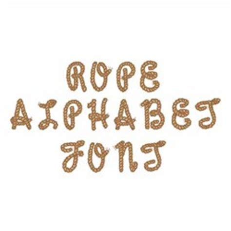 rope pattern font embroidery font rope alphabet font from great notions