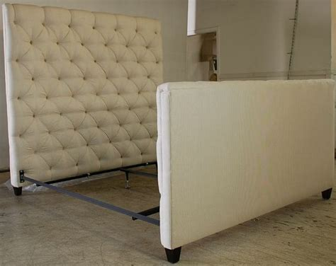 White Headboard And Footboard by Epic White Tufted Headboard And Footboard 62 In Leather